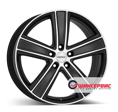 Dezent TH dark 17 / 7.5J PCD 5x112 ET 32 ЦО 70.1